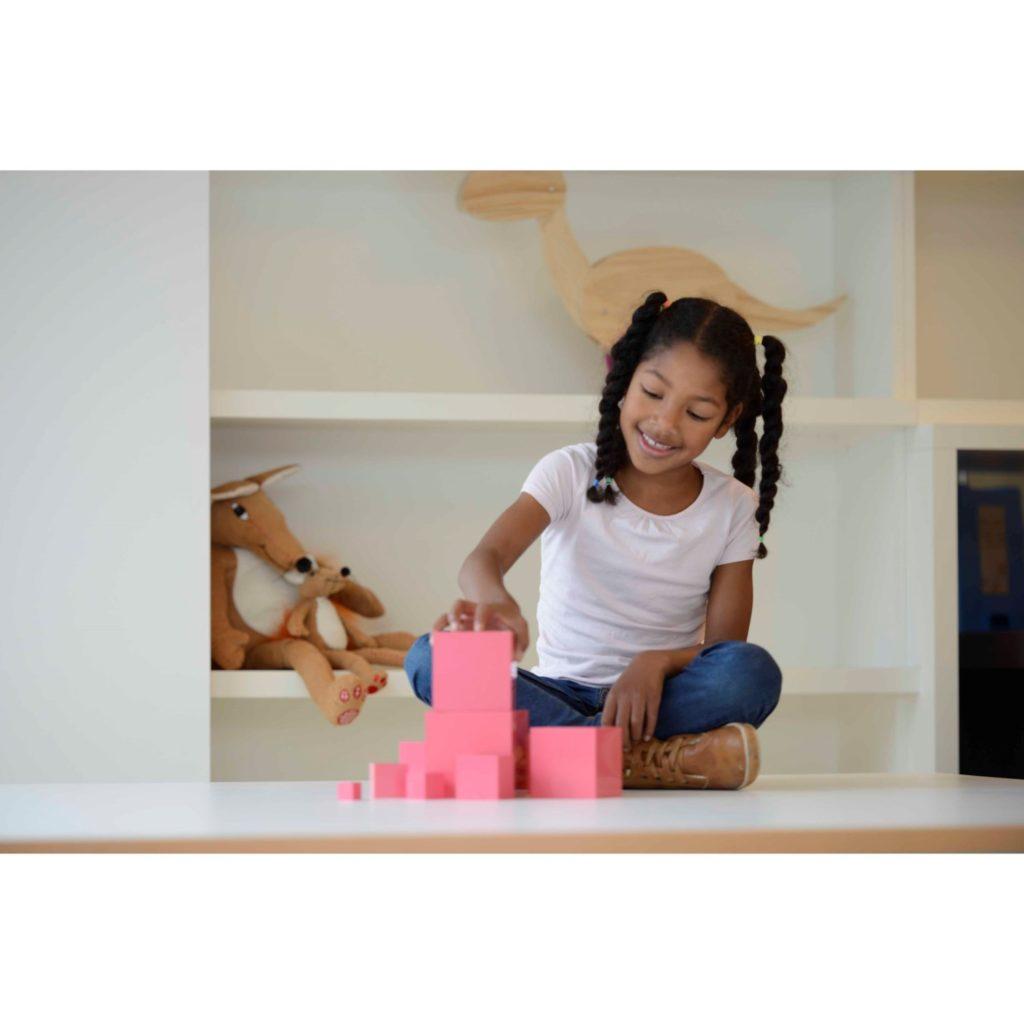 Turnul roz - original Montessori - Nienhuis