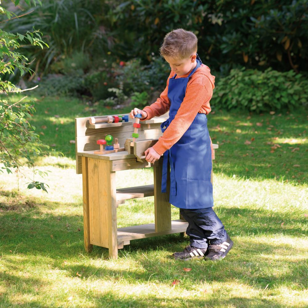 Banc de lucru copii - lemn impregnat - outdoor
