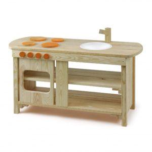 Bucatarie joaca - lemn impregnat - outdoor