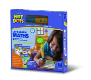 "Carduri HOT DOTS ""Matematica"" - Jocuri matematice - Educational Insights"