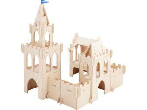 Castelul din poveste - Structura joc rol copii inclusiv outdoor - Haba Education