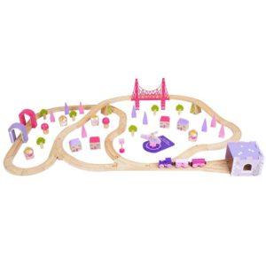 Circuit - Oraselul zanelor (75 piese) - Seturi de tren - BigJigs