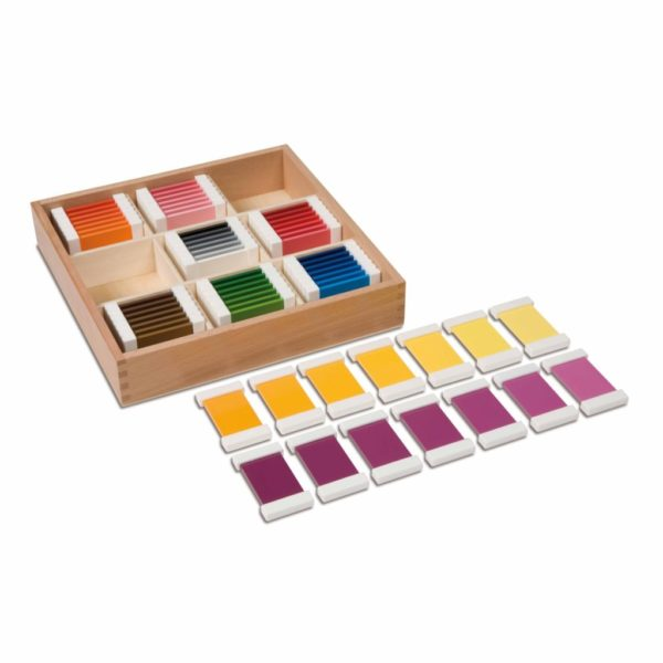 Cutie cromatica - 9 culori x 7 nuante - original Montessori - Nienhuis