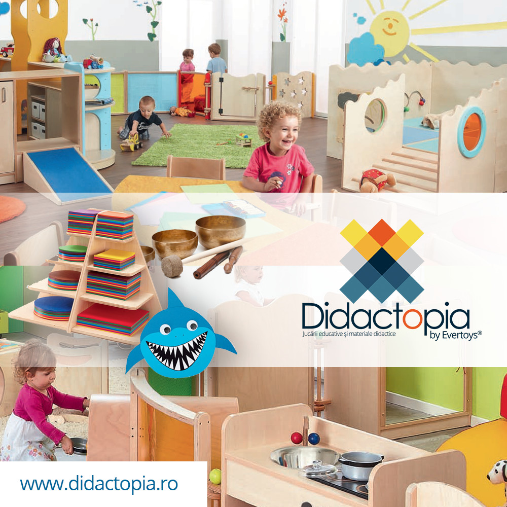 Didactopia by Evertoys jucarii, materiale didactice, mobilier, montessori, sport si outdoor