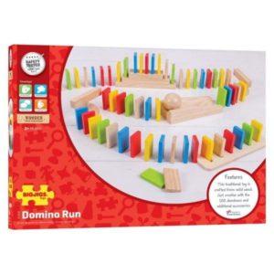 Domino din lemn - Jocuri de indemanare - BigJigs