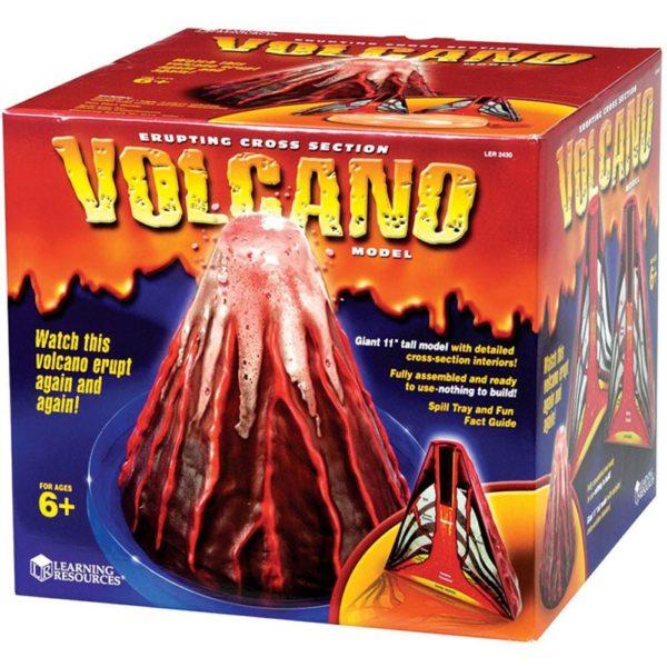 Modelul eruptiei vulcanice - Cunoasterea mediului - Learning Resources