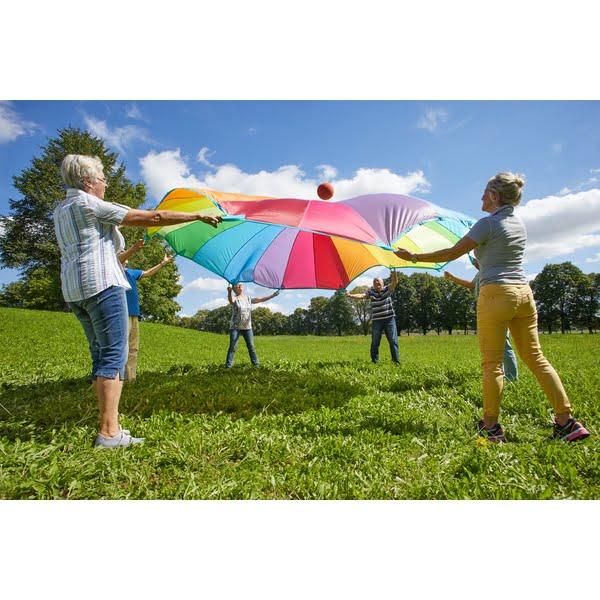 Parasuta mare joc colaborare copii si adulti - sport outdoor - Haba Education