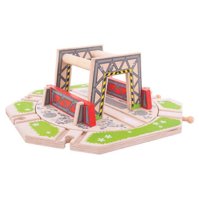 Platforma industriala rotativa - Accesorii trenulete - BigJigs