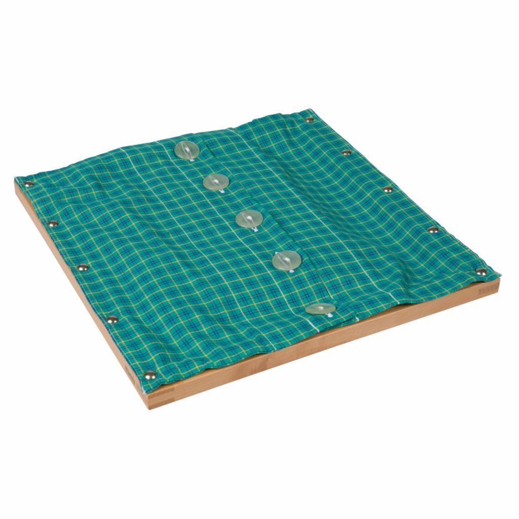 Rama cu nasturi mari - original Montessori - Nienhuis