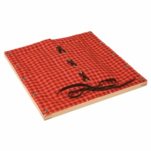 Rama cu sireturi - original Montessori - Nienhuis