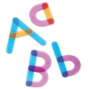 Sa construim alfabetul! - Jucarii lingvistice - Learning Resources
