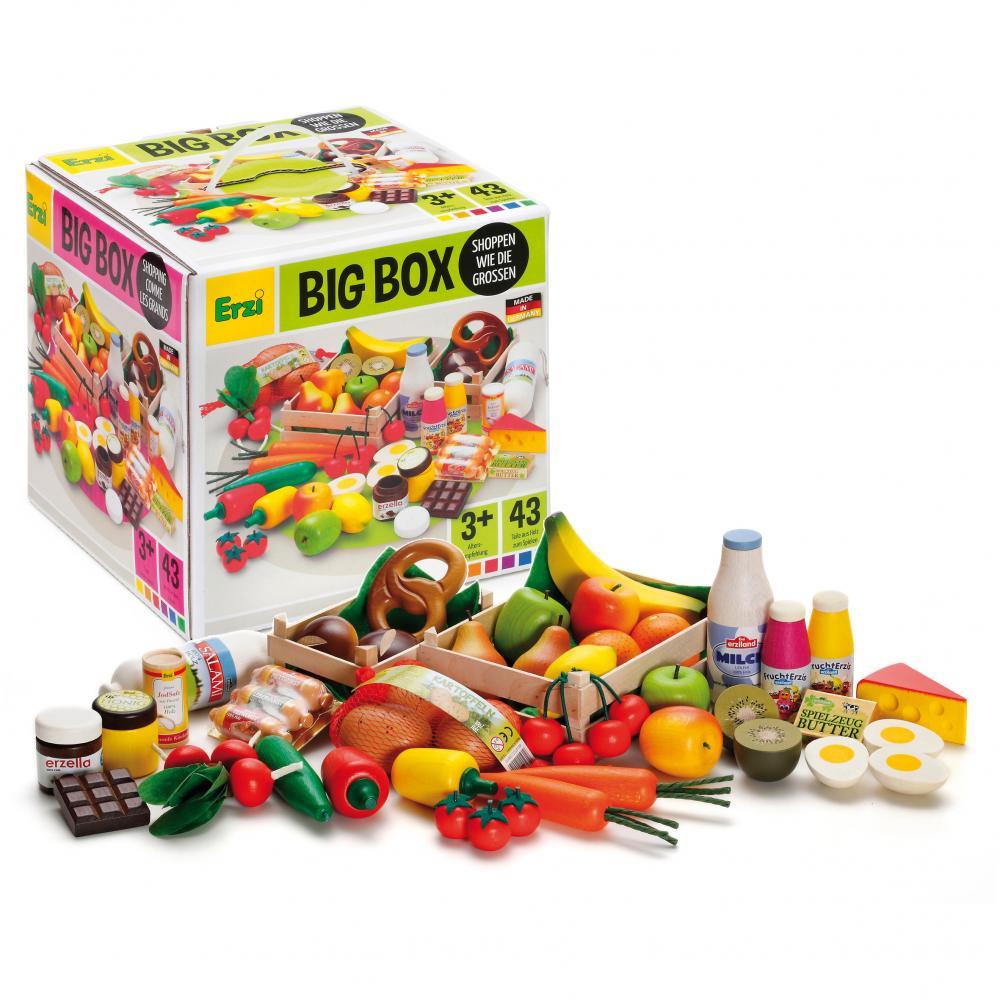 Set alimente de jucarie - lemn - Big Box - Erzi Germania