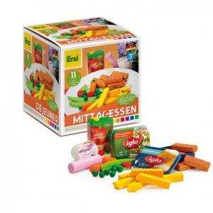 Set alimente de jucarie - lemn - Pranzul - Erzi Germania