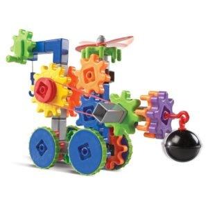 Set de constructie Gears! - Utilaje in miscare - Seturi cu rotite - Learning Resources