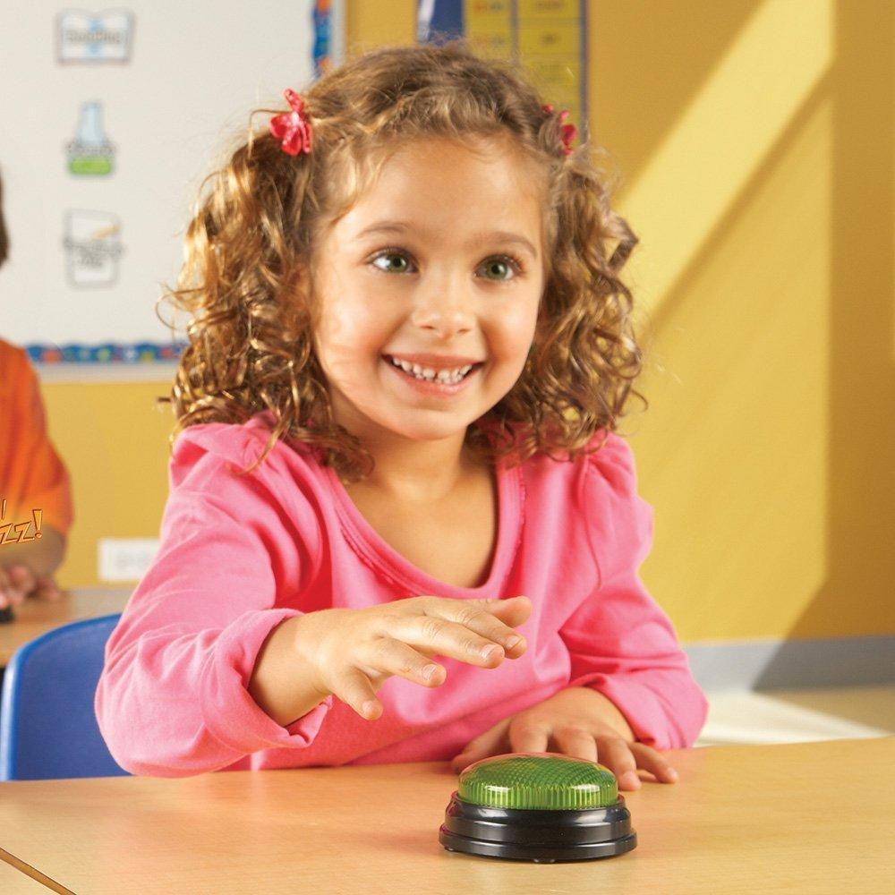 Sonerii cu lumini si sunete pentru raspuns - set 4 buc - Pentru clasa - Learning Resources