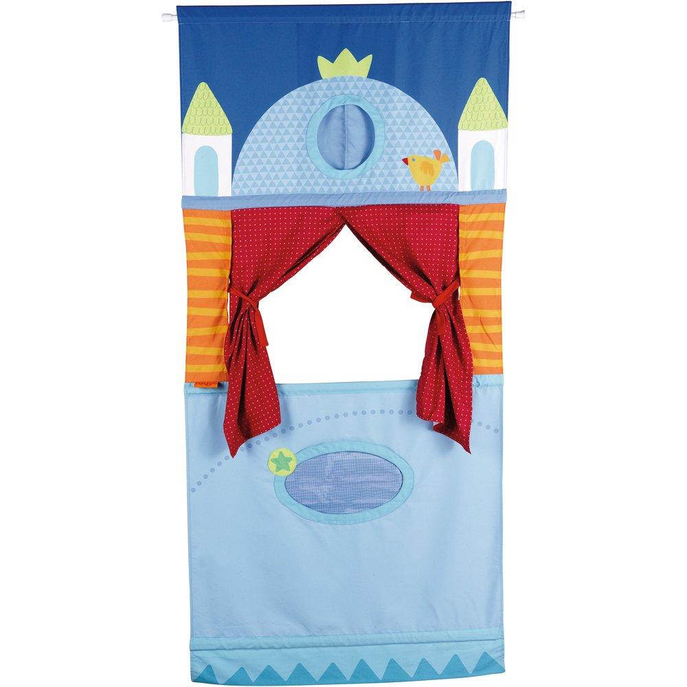 Teatrul din usa - Paravan culisa teatru de papusi - Haba