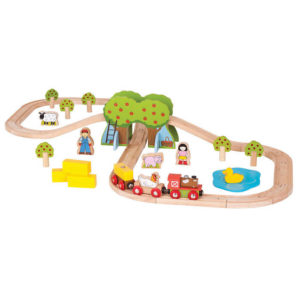 Trenuletul de la ferma - Seturi de tren - BigJigs