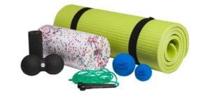 Set complet masaj fascial - automasaj muscular - inclusiv saltea sport - Sport Thieme