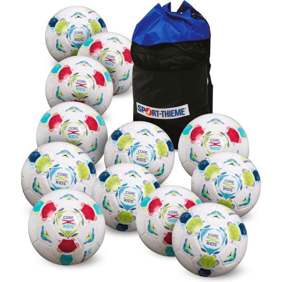 Set complet mingi de fotbal Juniori - CoreX Kids - mingi usoare