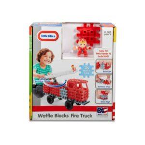 Blocuri De Constructie - Masina De Pompieri-Little Tikes-CONSTRUCTION-LT64448 prin Didactopia by Evertoys