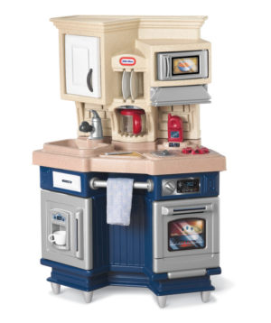 Bucatarie Albastra Micul Bucatar-Little Tikes-KITCHEN-LT61487 prin Didactopia by Evertoys