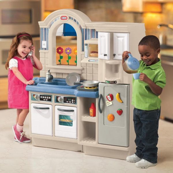 Bucatarie Cu Gratar-Little Tikes-KITCHEN-LT450B1 prin Didactopia by Evertoys