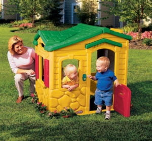 Casuta De Joaca Cu Sonerie-Little Tikes-PLAYHOUSE-LT42550 prin Didactopia by Evertoys