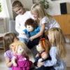 Emil - Papusa XL copii - cusuta manual - terapeutica - Original Rubens Barn