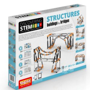 Engino Discovering STEM - Set Structuri - cladiri si poduri