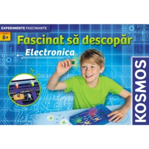 Fascinat sa descopar electronica - set experimente STEM - nivel incepator - Kosmos