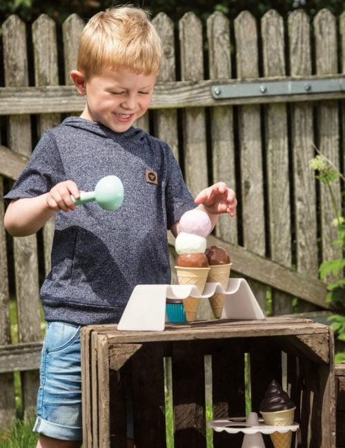 Gelateria Thorbjorn - Inghetata si cupcakes de jucarie - Joc de rol copii - Dantoy 2