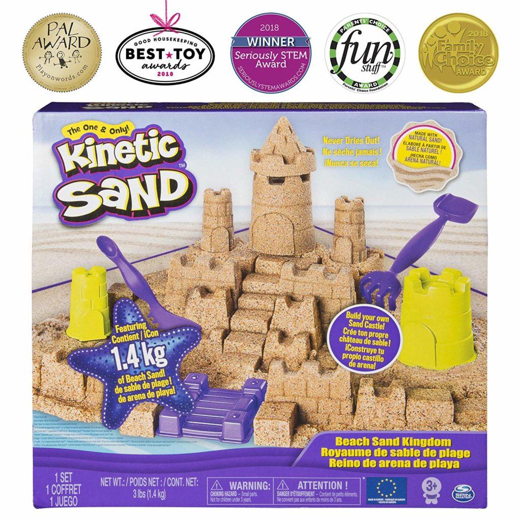 Kinetik Sand - Castelul de nisip - Set modelare nisip plajă kintetic