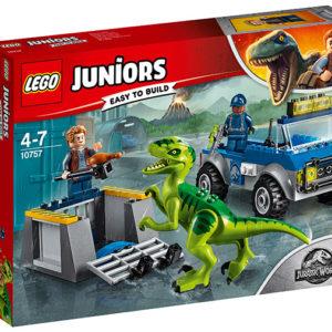 LEGO-10757-Camionul de salvare al Raptorului (10757)-LEGO Juniors