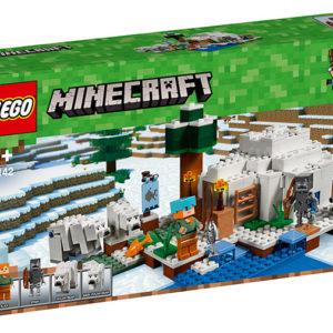 LEGO-21142-Iglu polar (21142)-LEGO Minecraft