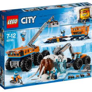 LEGO-60195-Baza mobila de explorare arctica (60195)-LEGO City