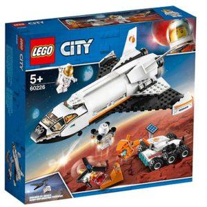 LEGO-60226-Naveta de cercetare a planetei Marte (60226)-LEGO City