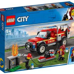 LEGO-60231-Camionul de interventie al comandantului pompierilor (60231)-LEGO City
