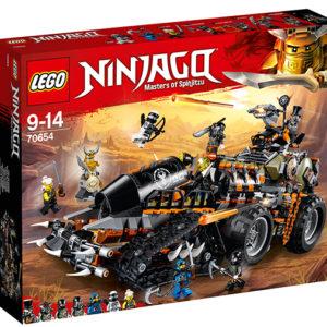 LEGO-70654-Dieselnaut (70654)-LEGO Ninjago