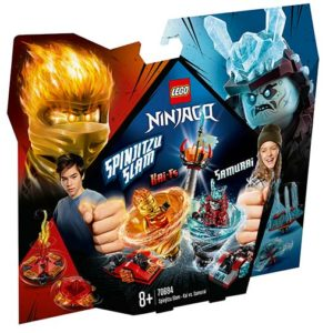 LEGO-70684-Slam Spinjitzu - Kai contra Samurai (70684)-LEGO Ninjago