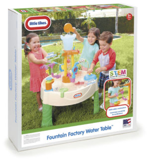 Masuta De Joaca Cu Fantana-Little Tikes-SAND AND WATER TABLES-LT64229 prin Didactopia by Evertoys