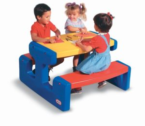 Masuta Mare Pentru Picnic-Little Tikes-PICNIC TABLE-LT46680 prin Didactopia by Evertoys