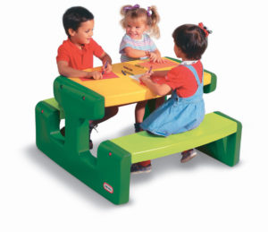 Masuta Pentru Picnic - Verde-Little Tikes-PICNIC TABLE-LT466A0 prin Didactopia by Evertoys