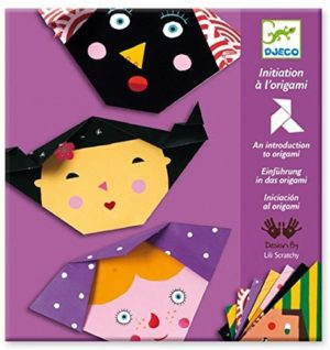 Origami - Personaje - set hartie bricolaj pentru copii mici - Djeco