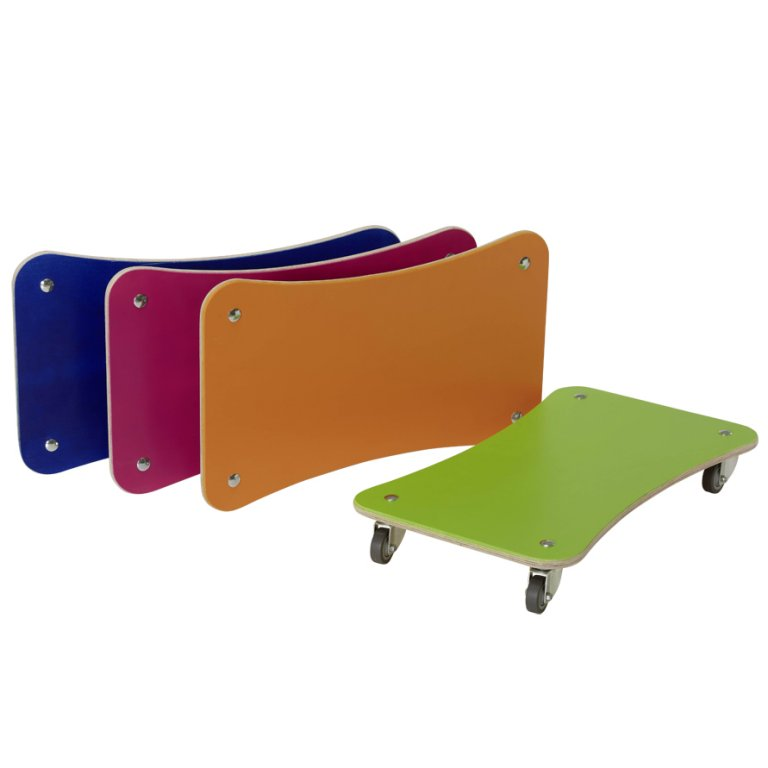 Placa role copii - Roller board - Set 4 placi color - Pedalo