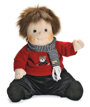 Teddy - Papusa XL copii - cusuta manual - terapeutica - Original Rubens Barn
