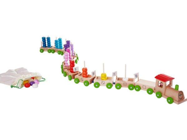 Trenul numerelor - Willy si lumea numerelor - Haba Education
