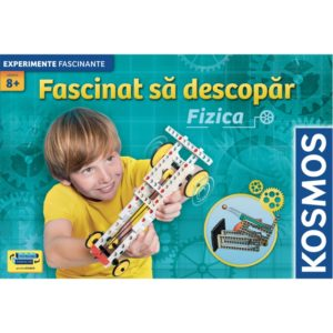 Fascinat sa descopar fizica - set experimente STEM - nivel incepator - Kosmos