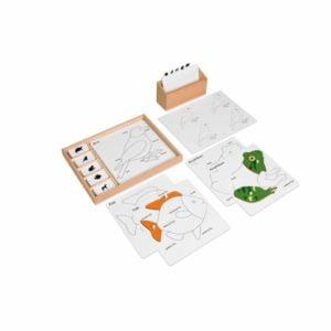 Animal Puzzle Activity Set-produs original Nienhuis Montessori-prin Didactopia by Evertoys