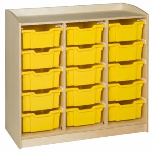Cabinet: 15 Trays (101 cm)-produs original Nienhuis Montessori-prin Didactopia by Evertoys