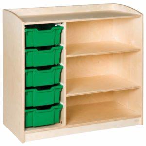 Cabinet: 5 Trays (101 cm)-produs original Nienhuis Montessori-prin Didactopia by Evertoys